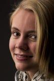 Adolescente rubio hermoso Imagen de archivo libre de regalías