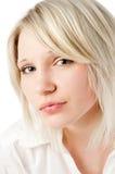 Adolescente rubio hermoso encendido Fotografía de archivo