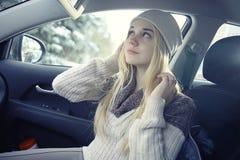 Adolescente rubio joven hermoso Fotos de archivo