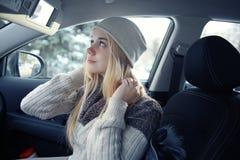Adolescente rubio joven hermoso Imagen de archivo libre de regalías