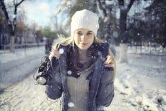 Adolescente rubio joven hermoso Fotografía de archivo