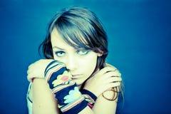 Adolescente sério Fotos de Stock Royalty Free