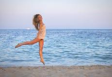 Adolescente saudável em férias Imagem de Stock Royalty Free