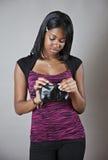 Adolescente sem dinheiro Fotos de Stock Royalty Free