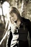 Adolescente sereno Fotografía de archivo libre de regalías