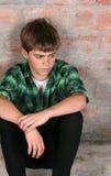 Adolescente serio Foto de archivo libre de regalías