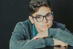 Adolescente serio y pensativo Fotografía de archivo libre de regalías