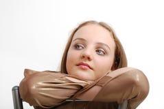 Adolescente soñador. Fotografía de archivo libre de regalías