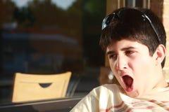 Adolescente soñoliento Fotos de archivo