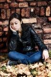 Adolescente solo Fotografía de archivo libre de regalías