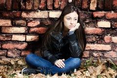 Adolescente solo Foto de archivo libre de regalías