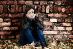 Adolescente solo Fotos de archivo libres de regalías