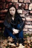 Adolescente solo Imagen de archivo libre de regalías