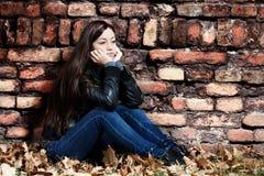 Adolescente solo Imagenes de archivo
