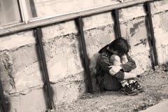 adolescente solo della città Fotografie Stock Libere da Diritti
