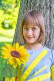 Adolescente sonriente imágenes de archivo libres de regalías
