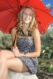 Adolescente sonriente foto de archivo libre de regalías
