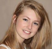 Adolescente sonriente Fotografía de archivo