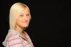 Adolescente sonriente Fotos de archivo