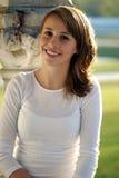 Adolescente sonriente bonito Imagen de archivo libre de regalías