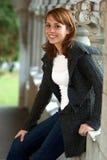 Adolescente sonriente bonito Fotografía de archivo