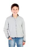 Adolescente sonriente de trece Fotografía de archivo