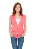 Adolescente sonriente en ropa casual Foto de archivo