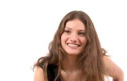 Adolescente sonriente feliz Fotografía de archivo