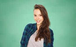 Adolescente sonriente feliz del estudiante Foto de archivo