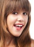 Adolescente sonriente hermoso Fotos de archivo