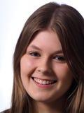Adolescente sonriente joven Imagenes de archivo