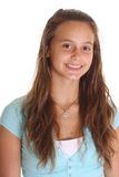 Adolescente sorridente fotografie stock