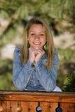 Adolescente sorridente Immagini Stock Libere da Diritti
