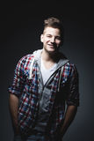 Adolescente sorridente d'avanguardia Immagine Stock Libera da Diritti