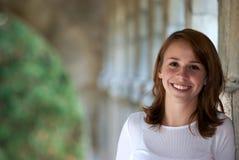 Adolescente sorridente grazioso Fotografia Stock