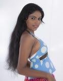 Adolescente srilanqués Fotos de archivo