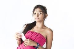 Adolescente srilanqués dulce Fotos de archivo libres de regalías