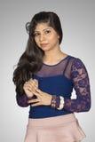 Adolescente srilanqués hermoso Fotografía de archivo