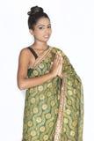 Adolescente srilanqués lindo Fotos de archivo