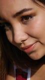 Adolescente tímido Fotografía de archivo libre de regalías
