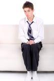 Adolescente timido Immagini Stock Libere da Diritti