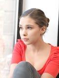 Adolescente tranquilo Foto de archivo