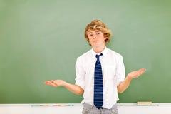 Adolescente trascurato Fotografie Stock