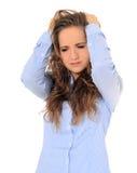 Adolescente trastornado Fotos de archivo