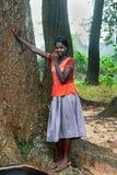 Adolescente tribal Fotografía de archivo