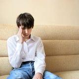 Adolescente triste Imagen de archivo