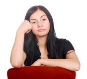Adolescente triste Imagem de Stock Royalty Free