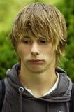 Adolescente triste Imagenes de archivo