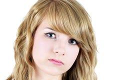 Adolescente triste o deprimido Foto de archivo libre de regalías