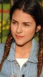 Adolescente y confusión de la muchacha Imagen de archivo libre de regalías